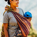 Chin Woman with Child, Mindat Myanmar
