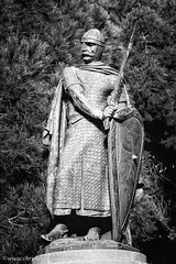 King Alfonso I (www.chriskench.photography) Tags: silverefexpro statue europe monochrome lisboa 18135 xt2 travel bw lisbon kenchie blackandwhite fujifilm portugal lisboaregion