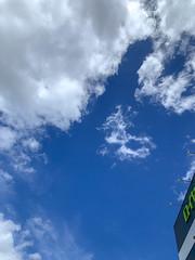 summer sky (Hideki-I) Tags: sky iphone hyogo japan cloud letter