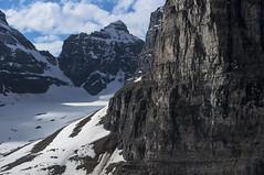 Leroy Glacier, Plain of Six Glaciers (benereshefsky) Tags: banff banffnationalpark lake lakelouise plainofsixglaciers glaciers nature naturalbeauty mountains snow canada alberta par moraine