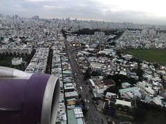 Flying into Ho Chi Minh City (Simon_sees) Tags: busy asia building city landing windowview windowseat hochiminhcity