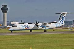 G-ECOR DHC-8Q 402 Flybe MAN 23-07-19 (PlanecrazyUK) Tags: egcc manchester ringway manchesterairport gecor dhc8q402 flybe man 230719