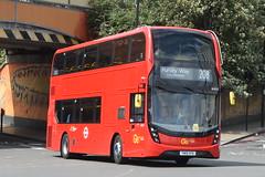 YW19 VPX (EH327) Go-Ahead London Metrobus (hotspur_star) Tags: londontransport londonbuses londonbus londonbuses2019 alexanderdennisltd enviro400mmc tfl transportforlondon hybridbus hybridtechnology busscene2019 doubledeck goaheadlondonmetrobus yw19vpx eh327 208