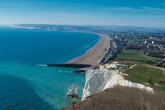 Seaford (Pixelkids) Tags: seaford sussex england sevensisters cliffs view town beach sea kreidefelsen