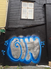 Blue Throw-up 2019 (svennevenn) Tags: bergen graffiti bergengraffiti throwups gatekunst streetart