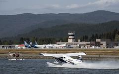 "Aircraft at JNU sm850 (Gillfoto) Tags: alaskaseaplanes alaskaairlines juneauinternationalairport alaska juneau cessna ""dehavillanddhc2beaver"" dehavilland boeing"