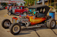 Flames (kendoman26) Tags: hdr nikhdrefexpro2 hotrod flames sonyalpha sonyphotographing sonya6000 selp1650 morriscruisenight august2019morrisilcruisenight