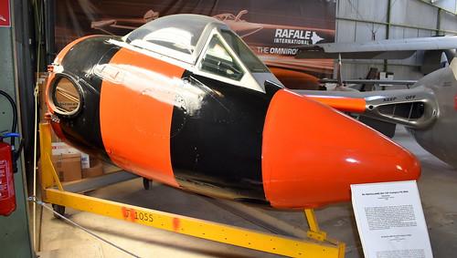 de Havilland DH.100 Vampire FB.6 c/n 966 Switzerland Air Force serial J-1055