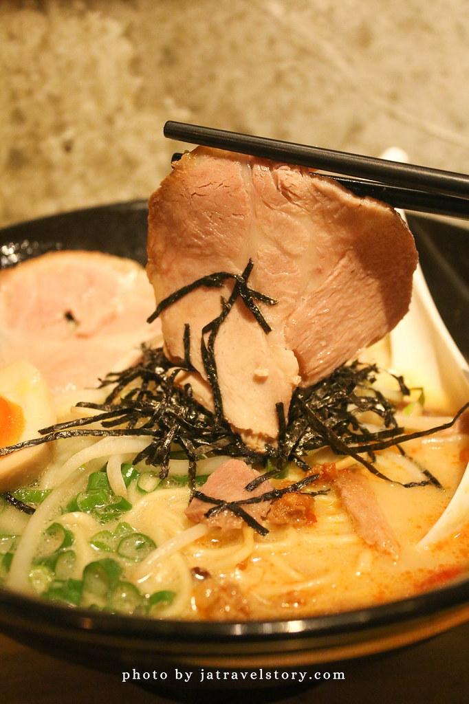 OSHO 拉麵 口味只有一種!免費加麵讓你吃到飽【南港美食】 @J&A的旅行