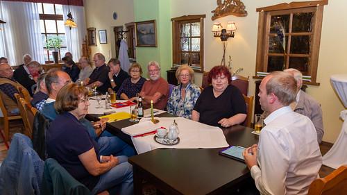 Gespräch mit der Arbeitsgemeinschaft 60plus der SPD Oldenburg in Nadorst.