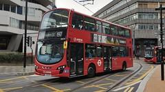 Arriva London DW514 (LJ13 CCU) Croydon 14/8/19 (jmupton2000) Tags: lj13ccu wright wrightbus eclipse gemini daf arriva london uk bus tfl transport