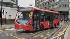 Arriva London SLS29 (SK17 HJV) Croydon 14/8/19 (jmupton2000) Tags: sk17hjv wright wrightbus streetlite df arriva london uk bus tfl transport