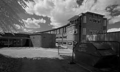 A wing of Harefield Hospital (IanAWood) Tags: converted720nmirsensor digitalinfrared fullspectrumphotography harefield infraredblackandwhite lbofhillingdon nikkorafs1224mmf4gdx nikond70ir walkingwithmynikon westlondon