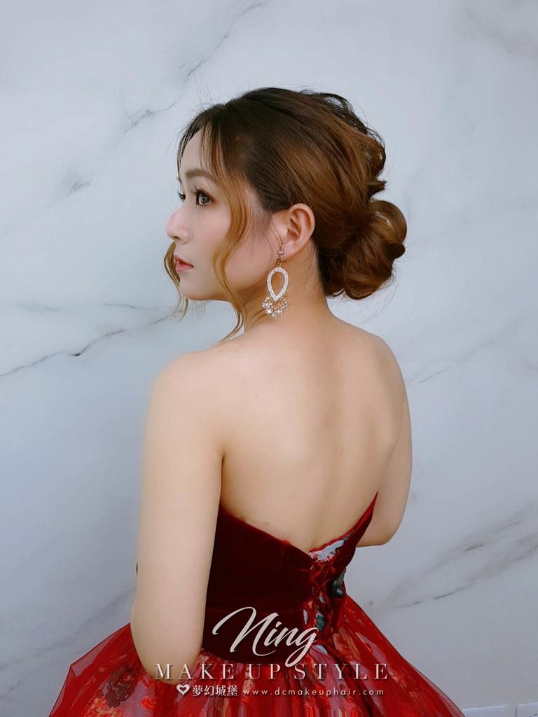 【新秘羽寧】新娘造型創作 / 唯美盤髮造型