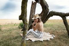 Ruby (henrychristo27 (Christophe)) Tags: portraiture sensuality women topless glamour boheme beauty girl