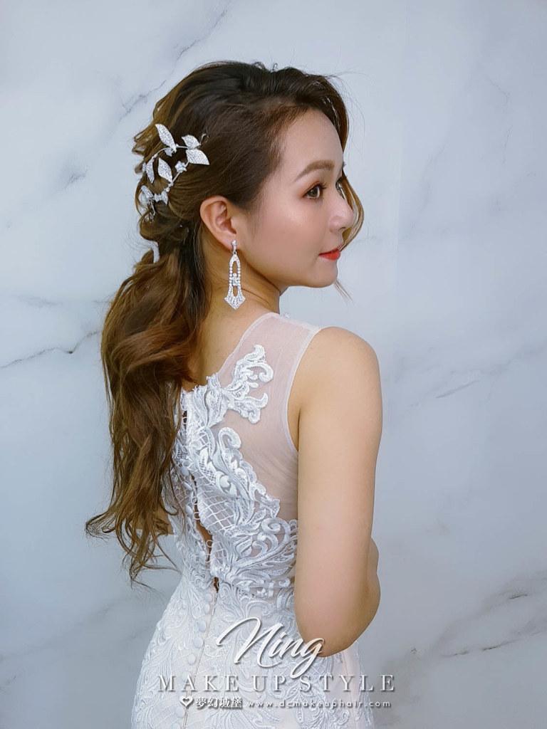 【新秘羽寧】新娘造型創作 / 浪漫優雅風格