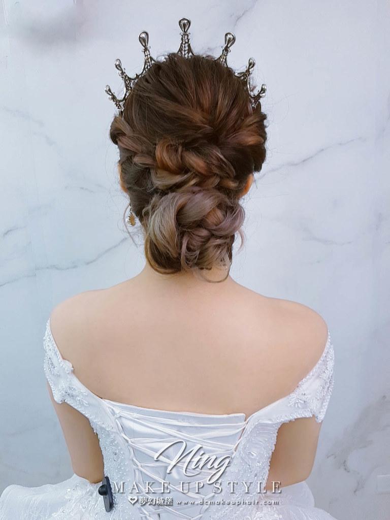 【新秘羽寧】新娘造型創作 / 奢華皇冠造型