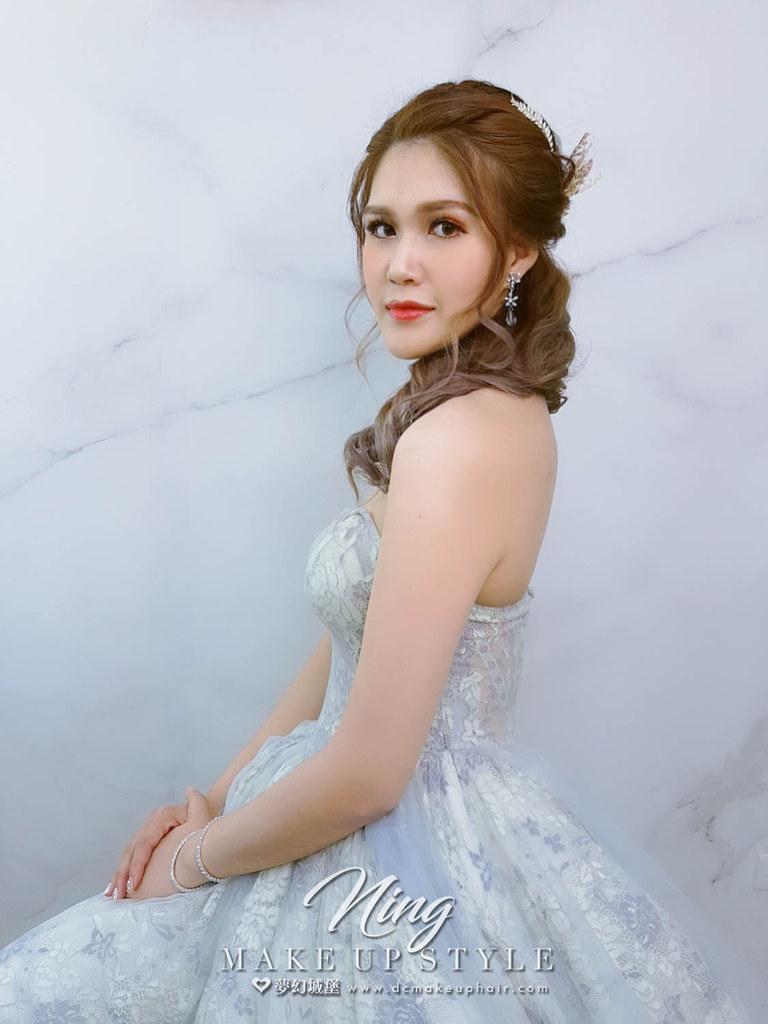 【新秘羽寧】新娘造型創作 / 側邊編髮造型