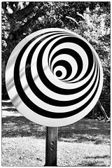 Optical illusion (Missy2004) Tags: nikkorafs18140mmf3556gedvr marwell opticalillusion blackandwhite 119picturesin2019 40119