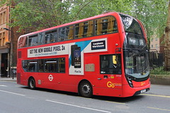 EH164 YX67 VFJ (ANDY'S UK TRANSPORT PAGE) Tags: buses london goaheadlondon londoncentral
