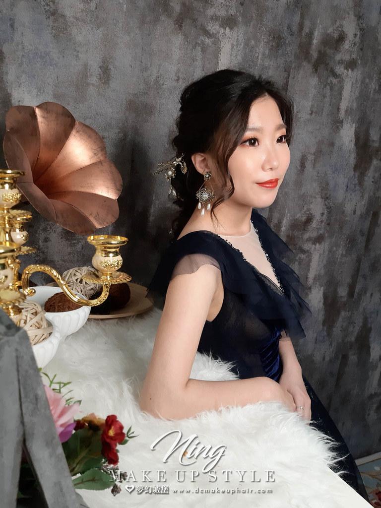 【新秘羽寧】新娘造型創作 / 公主編髮浪漫造型
