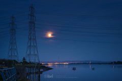 The Shore - 13 Aug 2019 - 05 (iBriphoto) Tags: industry alloaharbour alloa nightphotography grangemouth sunset river night moon summer glassworks alloadocks boats fishingboat theshore riverforth evening goldenhour harbour sky sunsets