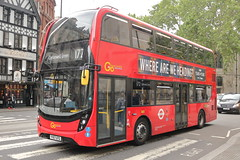 EH207 YY67 UTG (ANDY'S UK TRANSPORT PAGE) Tags: buses london fleetstreet goaheadlondon londoncentral