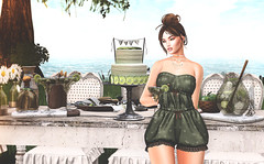 Margartia & Lime Cake (desiredarkrose) Tags: decorationidea decoration deaddollz limecake margarita tarte dahlia uber collabor88 fameshed