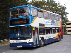 Stagecoach TransBus Trident (TransBus ALX400) 18102 KX04 RDZ (Alex S. Transport Photography) Tags: bus outdoor road vehicle stagecoach stagecoachmidlandred stagecoachmidlands alx400 alexanderalx400 dennistrident trident transbustrident transbusalx400 route1 18102 kx04rdz