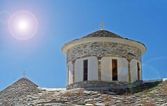 High Sun Greek Church (big_jeff_leo) Tags: greece greek temple church mediterranean island skopelos