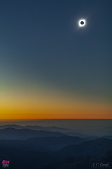 Vista ambiental de la totalidad - Totality landscape view (StarryEarth) Tags: eclipse total sol sun umbra corona baily contact contacto fases phases chile 2019