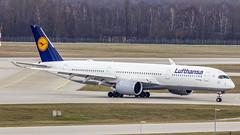 """Lufthansa Airbus A350-900 D-AIXD """"Bonn"""" Munich (MUC/EDDM) (Aiel) Tags: lufthansa airbus a350 a350900 daixd bonn munich canon60d sigma60600"""