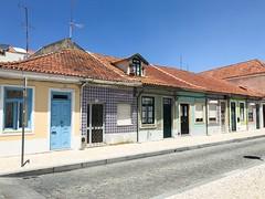 Streets of Aveiro (magnusbjorns) Tags: iphone iphonography portugal aveiro travel tourist doors tiles building buildings sun old tiledwall ceramctiles houses small smallhouses oldhouses street