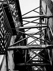 United.jpg (Klaus Ressmann) Tags: omd em1 china gulangyu klausressmann winter xiamen blackandwhite cityscape decay flccity scaffolding omdem1