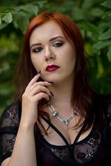 Minerwa (piotr_szymanek) Tags: minarwa woman young skinny portrait outdoor face redhead green leaves 1k 20f 50f 5k 10k 100f