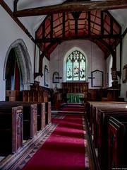 St.Peter and St. Paul, Medmenham (Biff_Brown) Tags: church interior buckinghamshire affinityphoto panasonicg6 samyang12mmf20ncscs