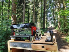 "Mobile Kaffee Catering Kaffeebar neu bei #hummercatering • <a style=""font-size:0.8em;"" href=""http://www.flickr.com/photos/69233503@N08/48535536227/"" target=""_blank"">View on Flickr</a>"
