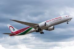 [ORY] RAM Boeing 787-9 Dreamliner _ CN-RGZ (thibou1) Tags: thierrybourgain ory lfpo orly spotting aircraft airplane nikon d810 tamron sigma royalairmaroc boeing b7879 dreamliner b787 ram cnrgz takeoff atterrissage casablanca b789