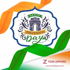 Proud to be an Indian Wish you a Happy Independence Day! (tonizippers) Tags: tonizippers manufacturer sliders zippers celebrates wishing wishes 15 august happy happiness independenceday freedom love independence like celebration peace
