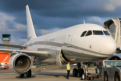 LX-GJC (GH@BHD) Tags: lxgjc airbus a318 a318cj a318112 a318100 acj elite globaljetluxembourg londonlutonairport ltn eggw lutonairport luton aircraft aviation airliner executive corporate bizjet vip