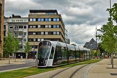 CAF Urbos_3 #108 Luxtram Luxemburg (3x105Na) Tags: caf urbos3 108 luxtram luxemburg strassenbahn strasenbahn tram tramwaj