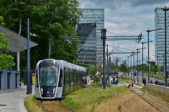 CAF Urbos_3 #105 Luxtram Luxemburg (3x105Na) Tags: caf urbos3 105 luxtram luxemburg strassenbahn strasenbahn tram tramwaj