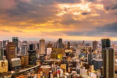 DSC04194 (Joel Carmelo) Tags: sony rx1rm2 rx1 35mm full frame japan osaka umeda dawn architecture buildings high rise urban