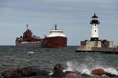 Herbert C Jackson arrives Duluth (CN Southwell) Tags: interlake steamship laker lake freighter superior 2019