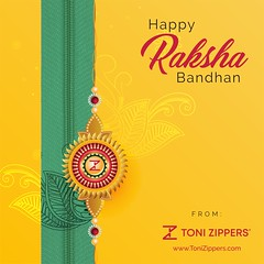 Celebrating the sacred bond of trust and togetherness. Happy Raksha Bandhan! (tonizippers) Tags: tonizippers manufacturer sliders zippers celebrates wishingwishes rakhi rakshabandhan rakhispecial rakhigift happy happinesshappyrakhi rakhicelebration like