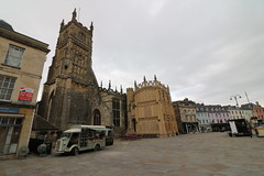 Cirencester (martinelliss) Tags: cirencester uk england gloucestershire buildings vehicles churches
