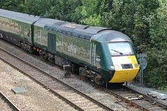 43192 (1) (ANDY'S UK TRANSPORT PAGE) Tags: trains chesterfield gwr greatwesternrailway class43
