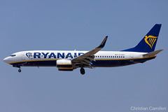 Ryanair Boeing 737-8AS 'EI-DPR' LMML - 24.07.2019 (Chris_Camille) Tags: ryanair boeing 7378as eidpr lmml 24072019spottinglog registration planespotting spotting maltairport airplane aircraft plane sky fly takeoff airport mla aviationgeek avgeek aviation canon5d canon livery myphoto myphotography