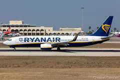 Ryanair Boeing 737-8AS 'EI-EKD' LMML - 13.08.2019 (Chris_Camille) Tags: ryanair boeing 7378as eiekd lmml 13082019 spottinglog registration planespotting spotting maltairport airplane aircraft plane sky fly takeoff airport mla aviationgeek avgeek aviation canon5d canon livery myphoto myphotography