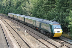 43192 + 43155 (ANDY'S UK TRANSPORT PAGE) Tags: trains chesterfield gwr greatwesternrailway class43